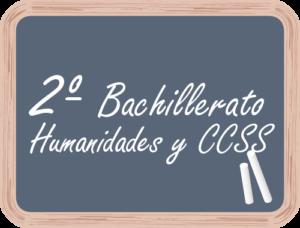 Matricular en 2º Bachillerato Humanidades y CCSS