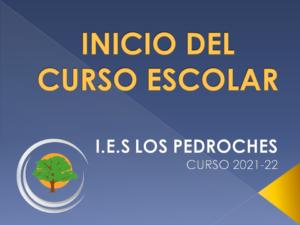 INICIO DE CURSO @ IES Los Pedroches